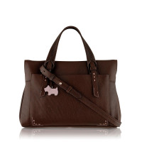Radley Barnsley medium crossbody brown leather tote bag, Brown